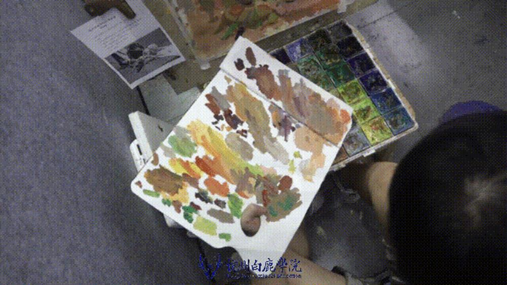 来吧,展示!杭州艺考画室白鹿八月月考进行中,13