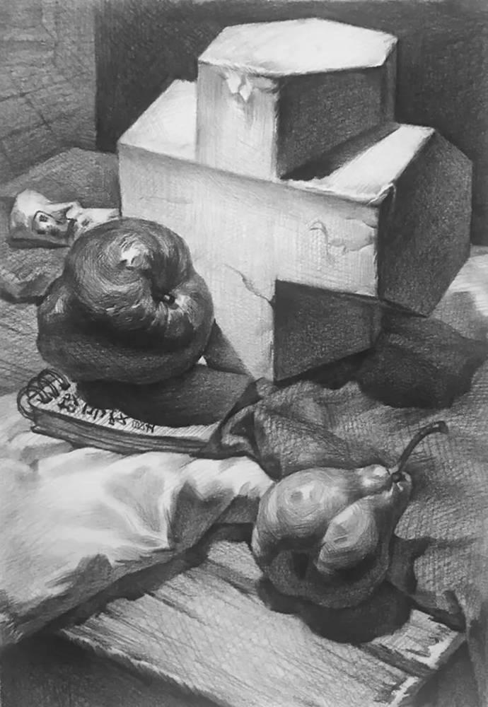 杭州白鹿画室,杭州画室,杭州素描美术培训,23