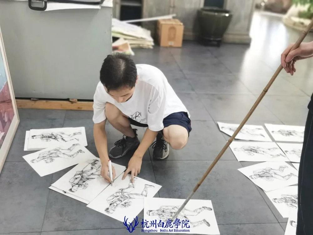 杭州白鹿日常 | 你说艺考美术生考大学很容易?你来试一试,57