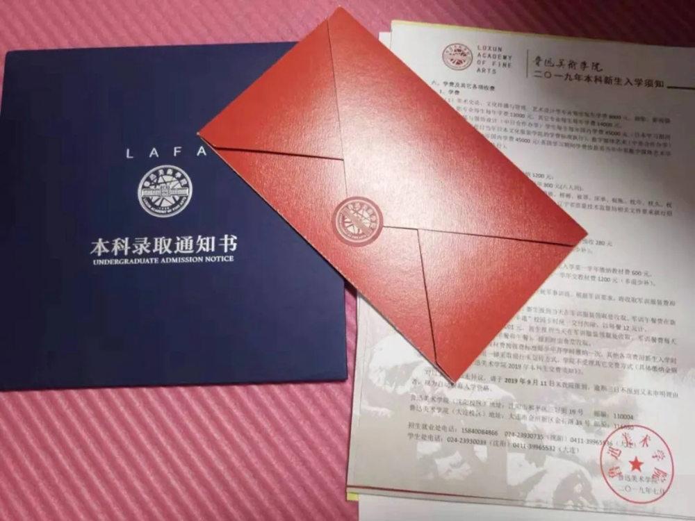 杭州白鹿画室快讯 | 2019九大美院录取通知书大赏,今年你想收到哪一封,14