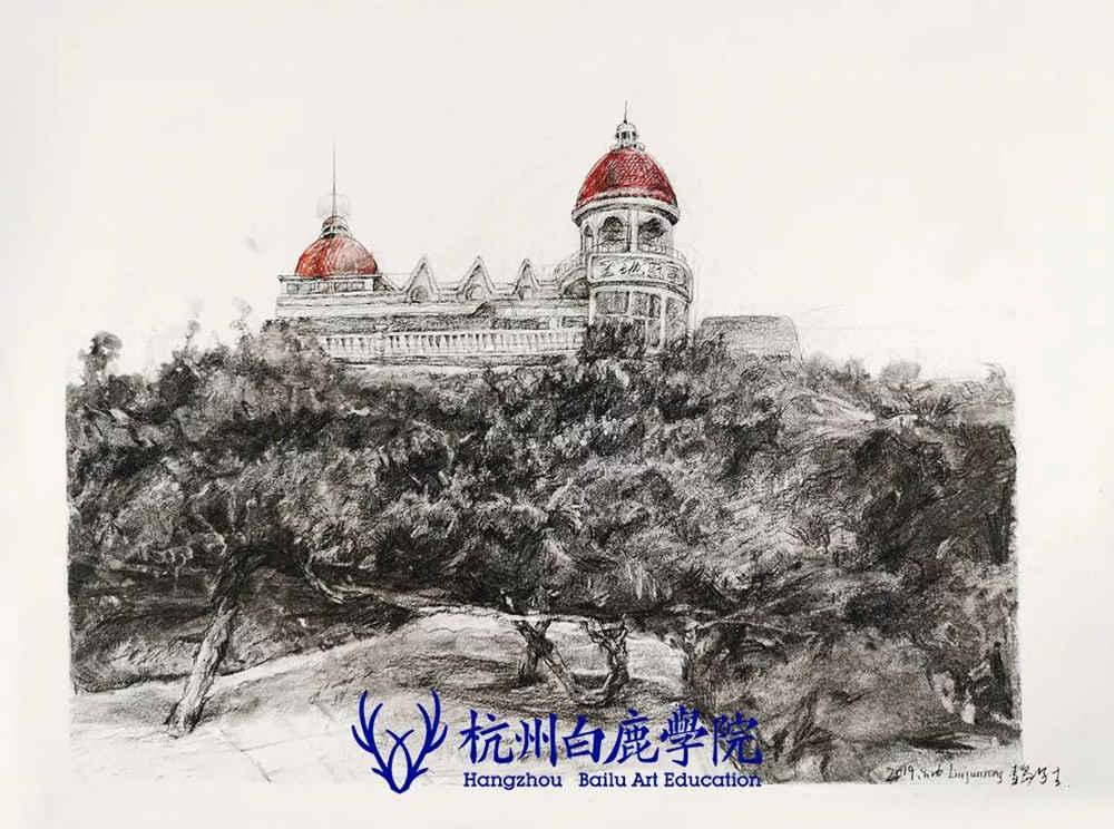 杭州艺考画室写生季 | 杭州白鹿学院下乡写生通知及注意事项,67
