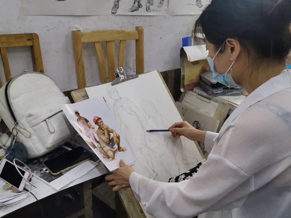 杭州艺考画室日常 | 你说美术生考大学很容易?要不你来试一试,37