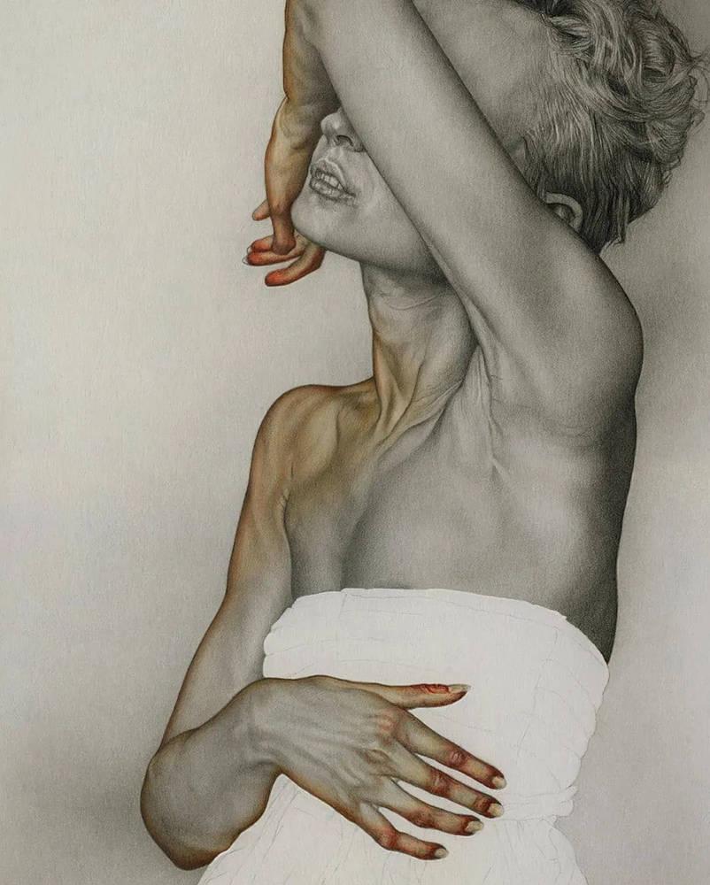 大神的素描,画的就是感觉,杭州艺考画室带你领略,06