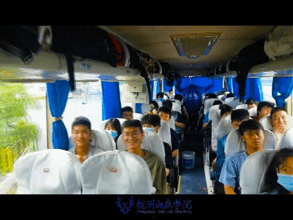 杭州艺考画室白鹿写生季 | 画画的Baby们安全抵达写生地啦,04