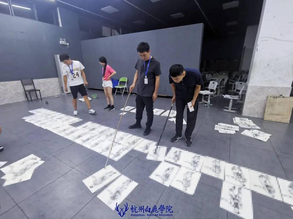 来吧,展示!杭州艺考画室白鹿八月月考进行中,20