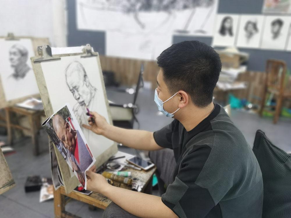 杭州白鹿画室,杭州画室,杭州美术培训,28