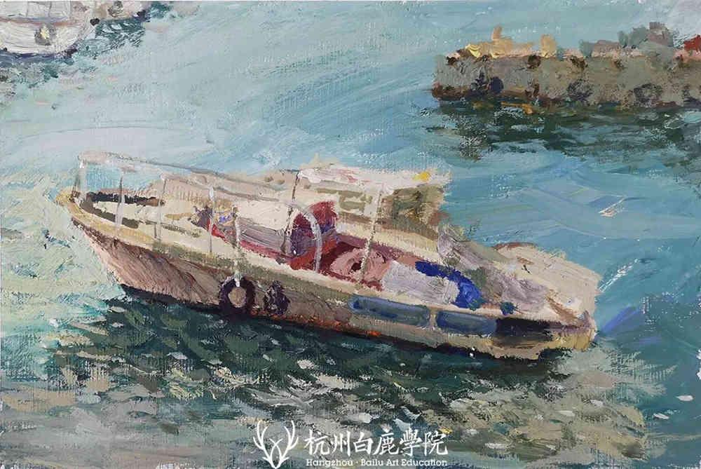 杭州艺考画室写生季 | 杭州白鹿学院下乡写生通知及注意事项,44