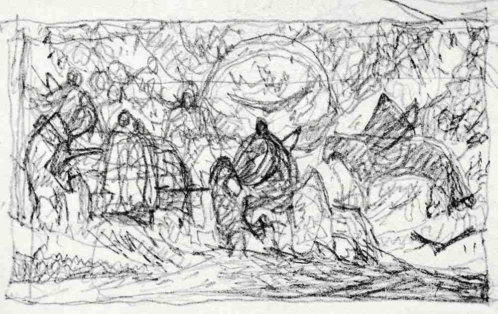 你的速写画不好,就是因为这个,杭州美术培训班老鹿带你涨涨见识,23