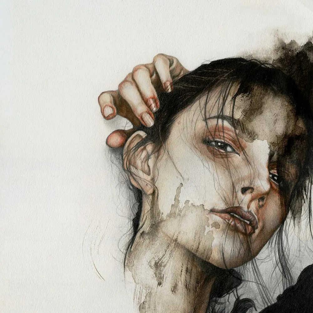 大神的素描,画的就是感觉,杭州艺考画室带你领略,28