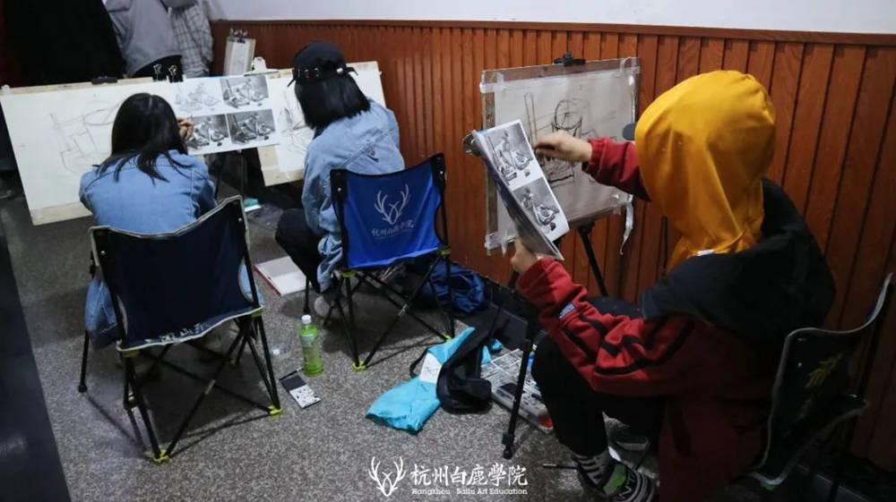 杭州艺考画室白鹿写生季 | 秋天的第一场写生未完待续,55