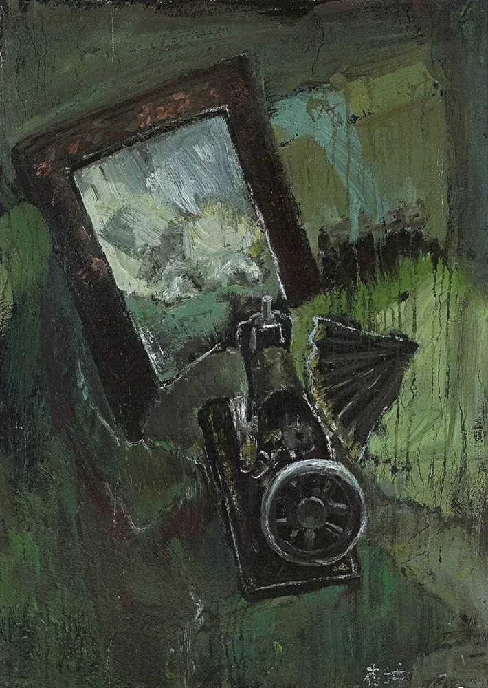 杭州艺考画室给你整理了难得一见的广美基础部收藏级色彩作品,04