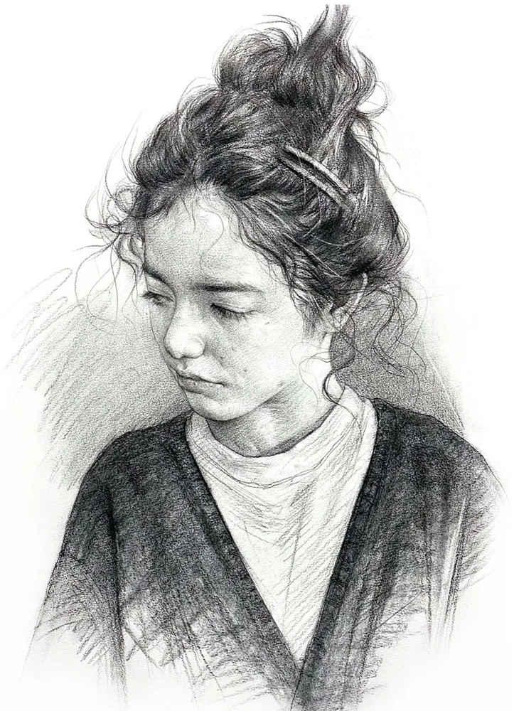 杭州艺考画室给你整理了神韵素描,看看这扎实的功底,01