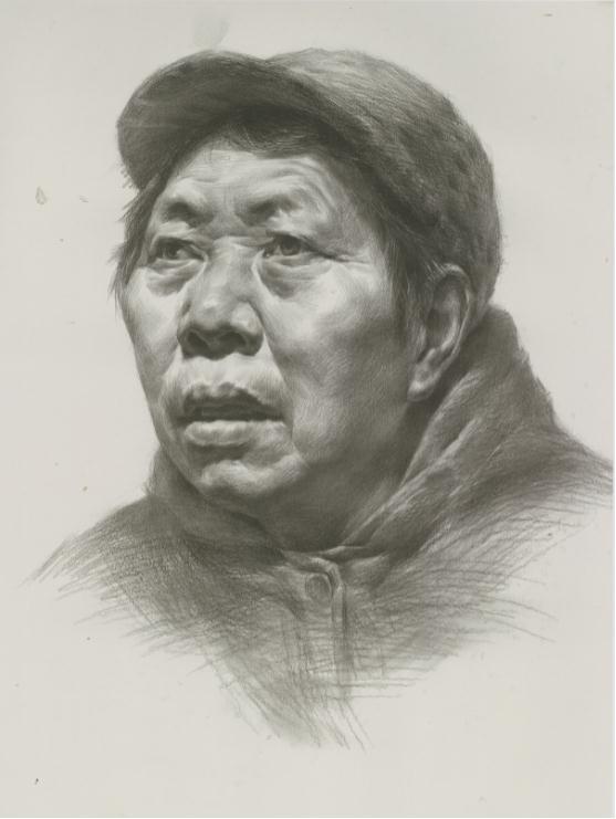 杭州艺考画室教你素描头像刻画之老中青的皮肤质感如何表现,04