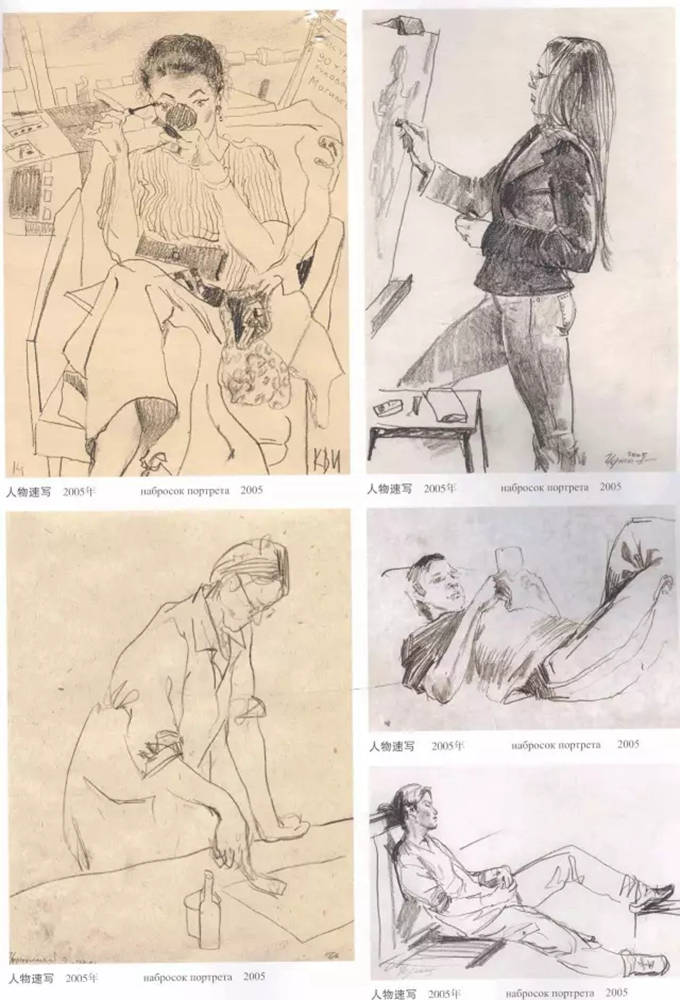 杭州艺考画室作品欣赏 | 那线条,那笔触!绘画基础教学速写,29