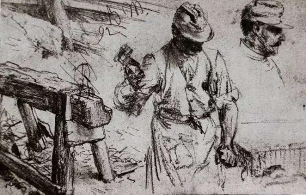 杭州艺考画室,杭州画室素描培训,杭州素描画室,14