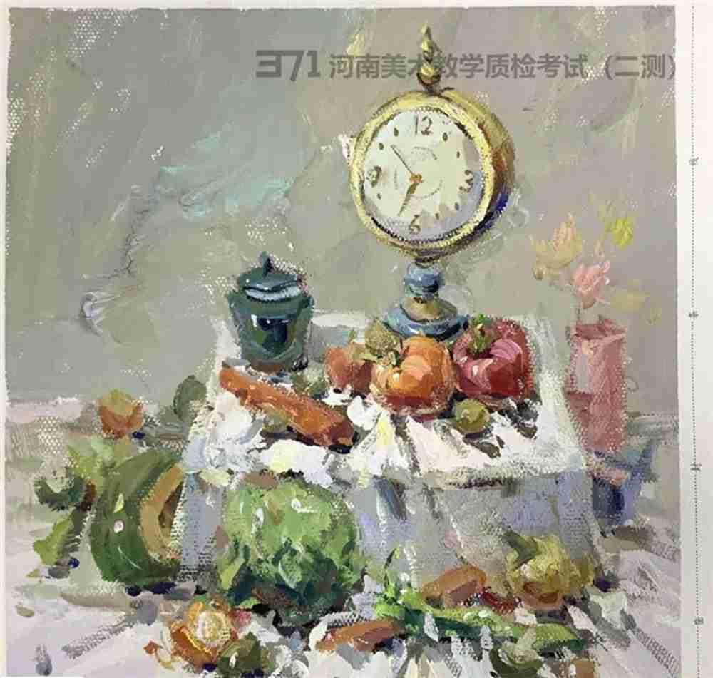 为更好的打磨自己,杭州画室集训班分享2021届河南省二模高分卷,56