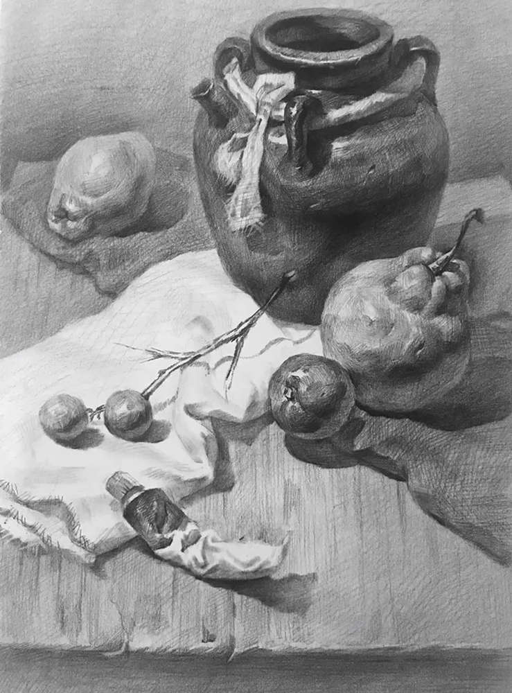 杭州白鹿画室,杭州画室,杭州素描美术培训,10