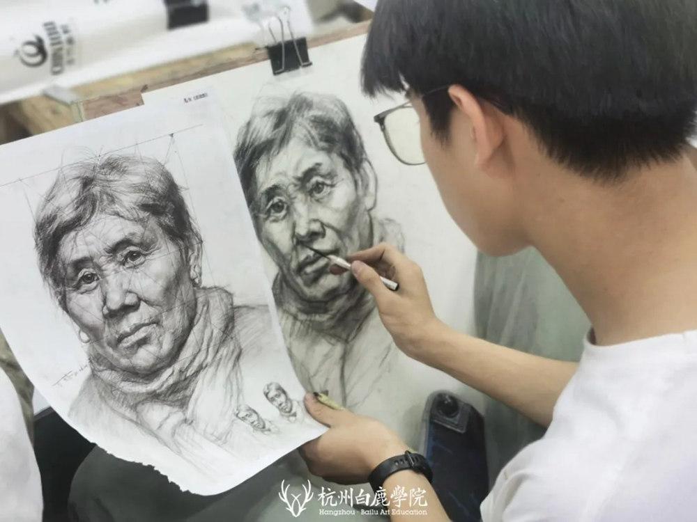 杭州白鹿日常 | 你说艺考美术生考大学很容易?你来试一试,12