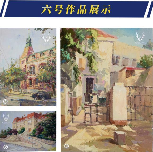 杭州美术培训班白鹿写生季 | 王者小组已诞生?确实有两把刷子,18