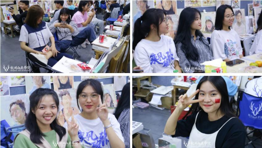 这个双节,杭州艺考画室白鹿学院陪你们过,19