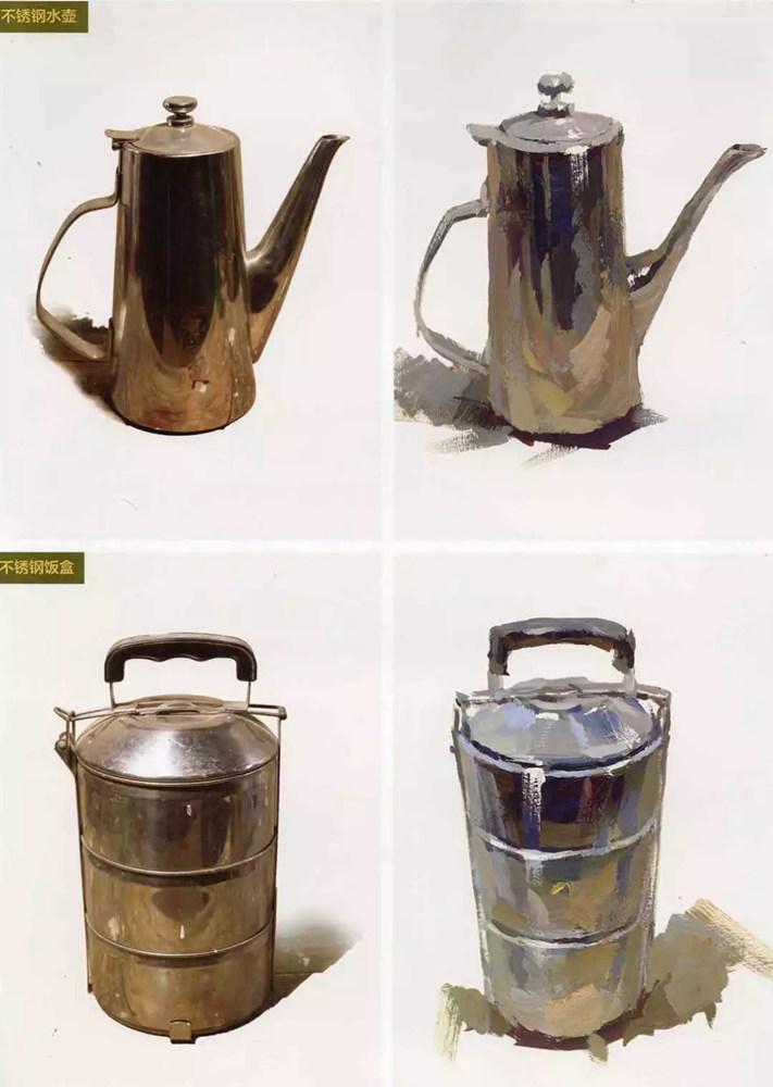 陶瓷、玻璃,金属这些难画的物品,杭州艺考画室给你解析,22