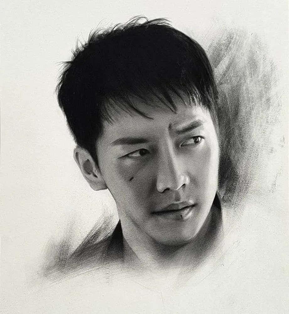 杭州艺考画室给你整理了神韵素描,看看这扎实的功底,26