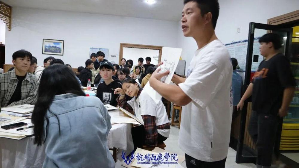 杭州艺考画室白鹿写生季 | 秋天的第一场写生未完待续,54