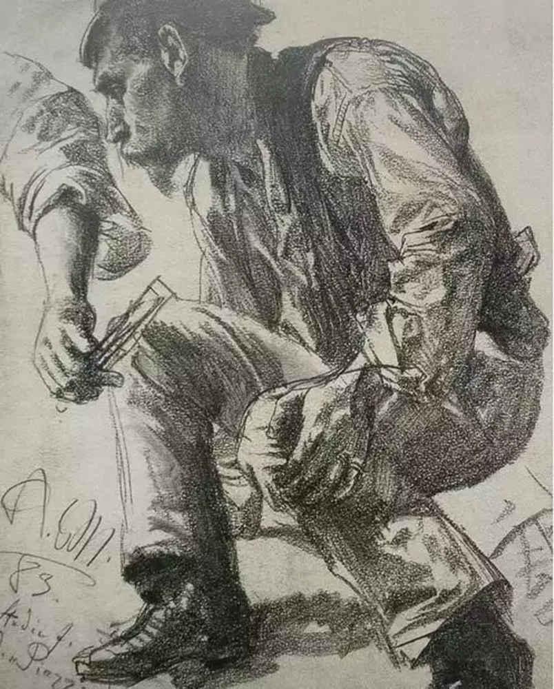 杭州艺考画室,杭州画室素描培训,杭州素描画室,19
