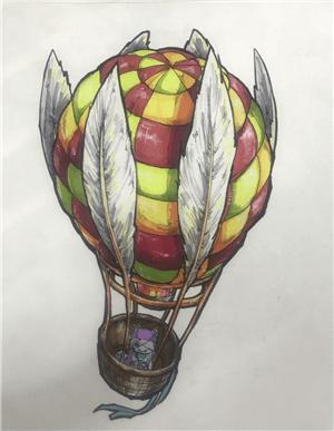 画室学生素描作品1