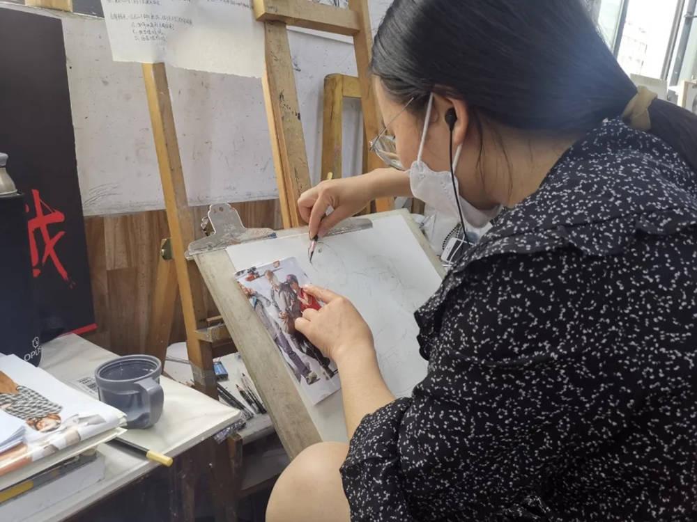 杭州艺考画室日常 | 你说美术生考大学很容易?要不你来试一试,36