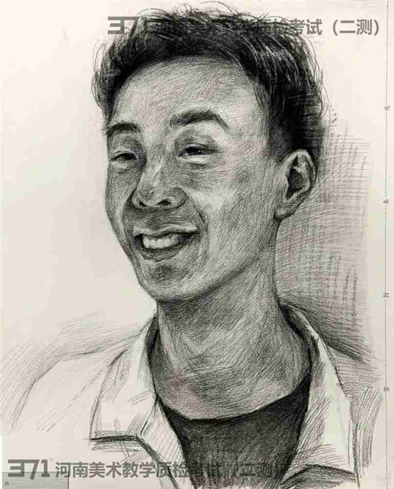 为更好的打磨自己,杭州画室集训班分享2021届河南省二模高分卷,37