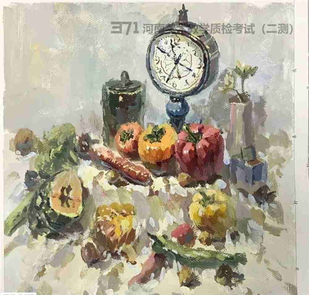 为更好的打磨自己,杭州画室集训班分享2021届河南省二模高分卷,51