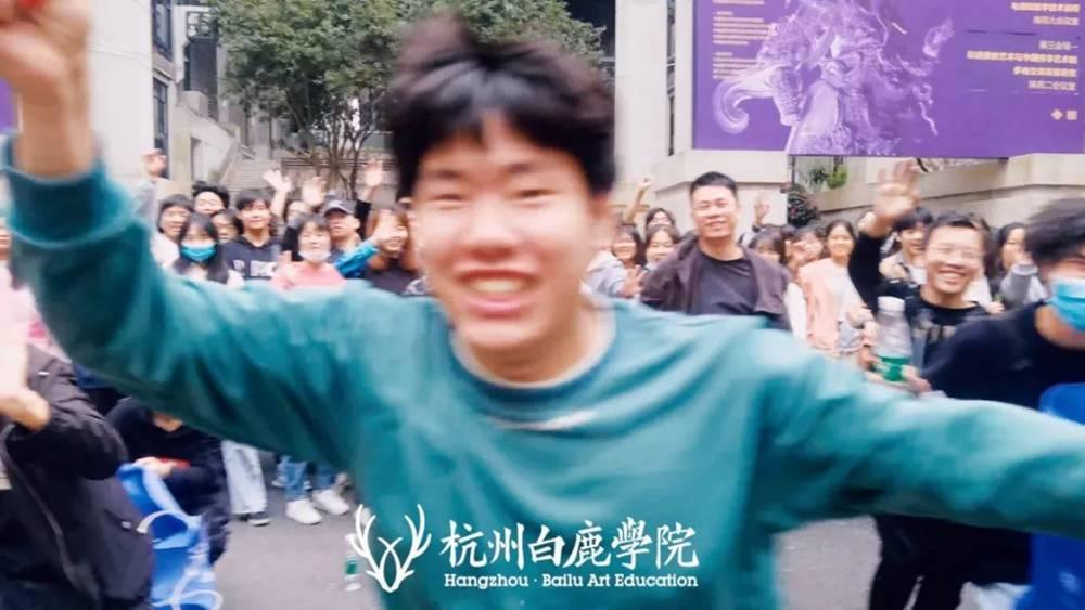 杭州画室集训班白鹿学子西湖国美一日游,以最优状态完胜联考,26