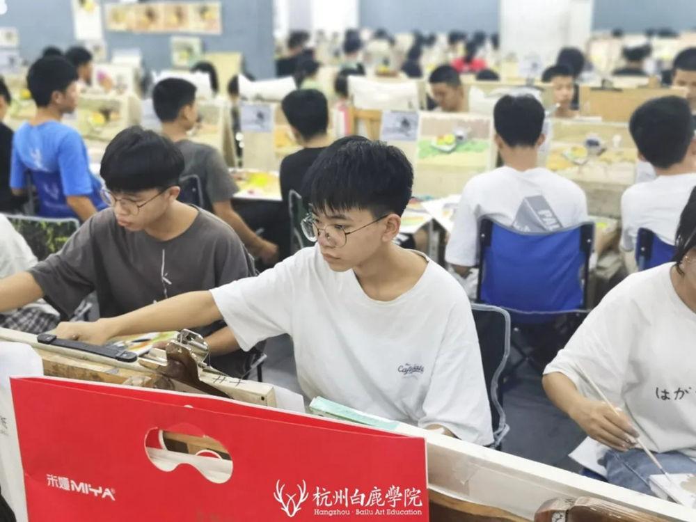 杭州白鹿日常 | 你说艺考美术生考大学很容易?你来试一试,36