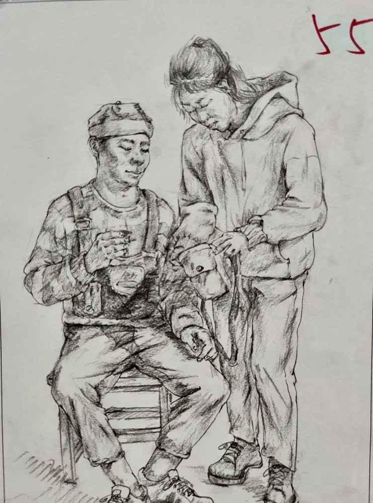 杭州美术培训班带你看21届江苏美术联考一模试卷,40
