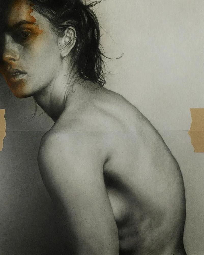 大神的素描,画的就是感觉,杭州艺考画室带你领略,13