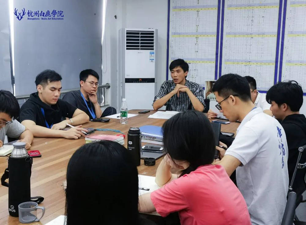 来吧,展示!杭州艺考画室白鹿八月月考进行中,32