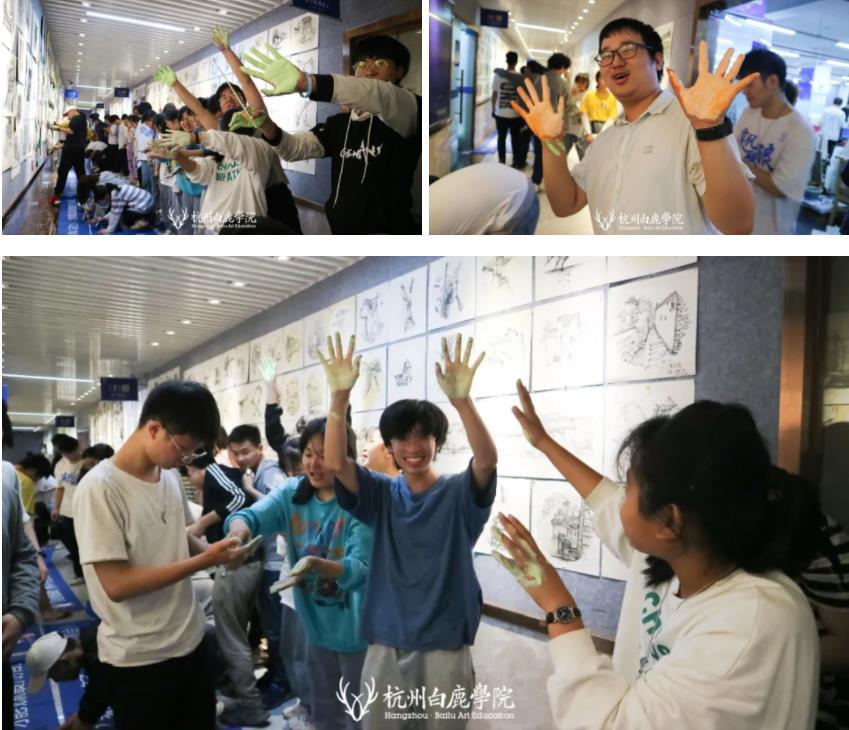 这个双节,杭州艺考画室白鹿学院陪你们过,22
