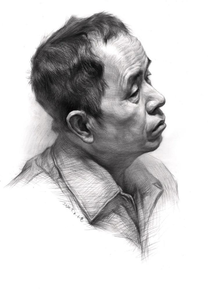 杭州艺考画室告诉你素描结构、色调、质感该如何表现?,35