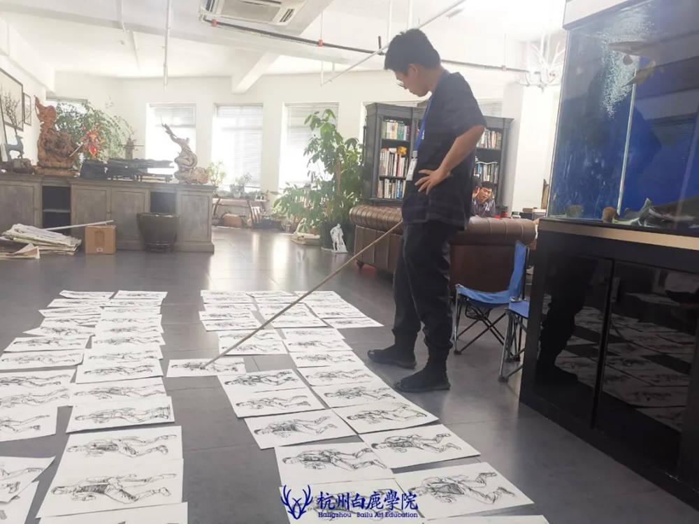 杭州白鹿日常 | 你说艺考美术生考大学很容易?你来试一试,56