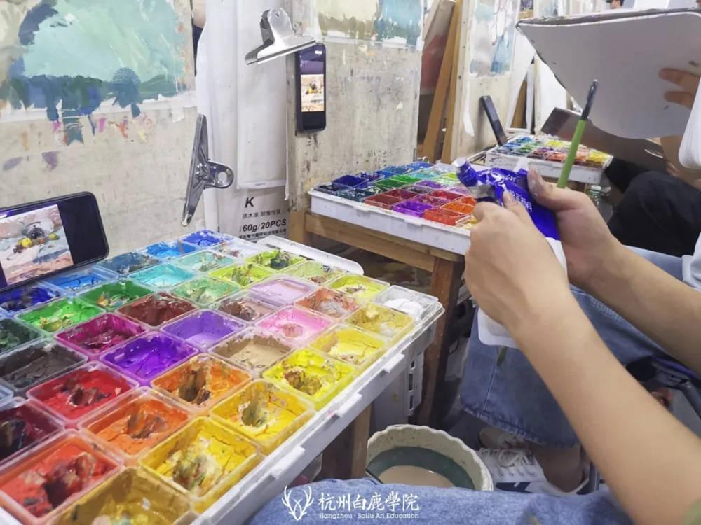 杭州艺考画室日常 | 你说美术生考大学很容易?要不你来试一试,03