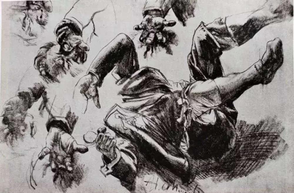 杭州艺考画室,杭州画室素描培训,杭州素描画室,13