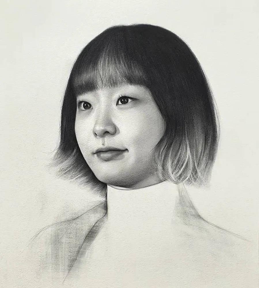 杭州艺考画室给你整理了神韵素描,看看这扎实的功底,34