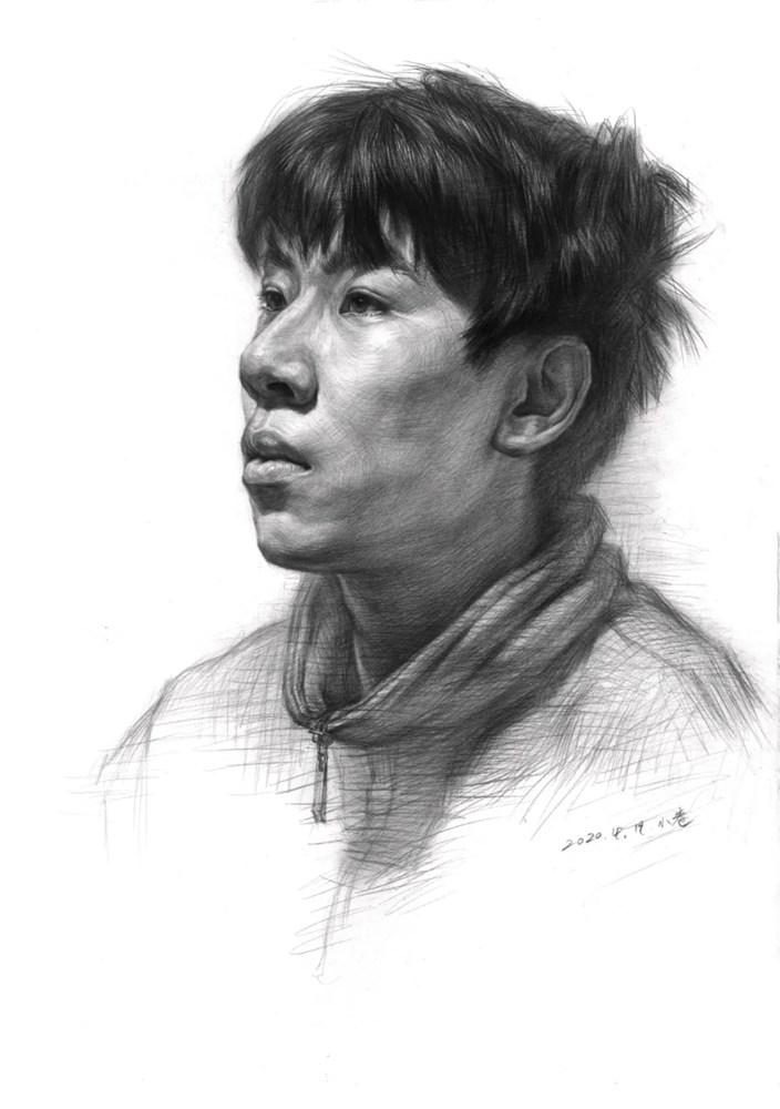 杭州艺考画室告诉你素描结构、色调、质感该如何表现?,33
