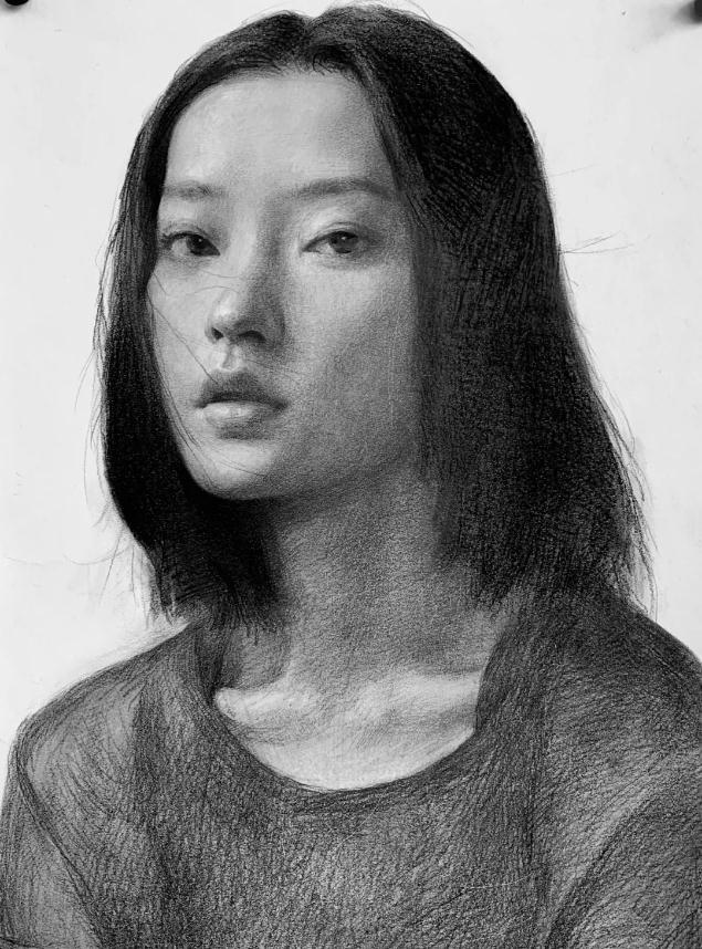 杭州艺考画室素描教程:素描关系是深入刻画的合理,03