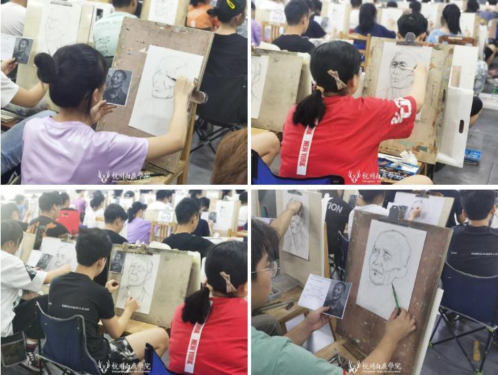 杭州艺考画室日常 | 你说美术生考大学很容易?要不你来试一试,26