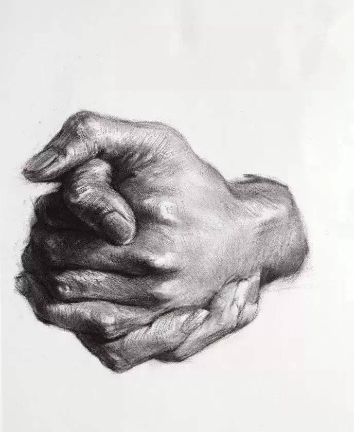 不想素描带手半身像成为你的弱项!一定要看杭州画室集训班整理这篇,10