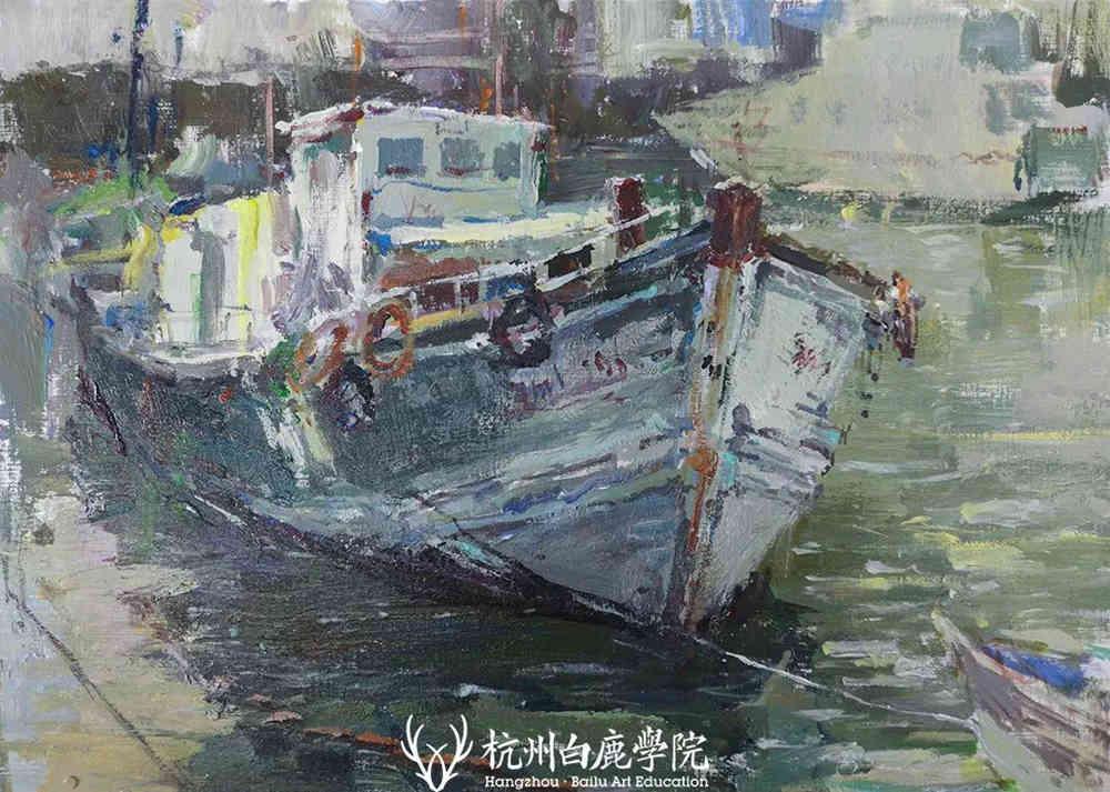 杭州艺考画室写生季 | 杭州白鹿学院下乡写生通知及注意事项,40
