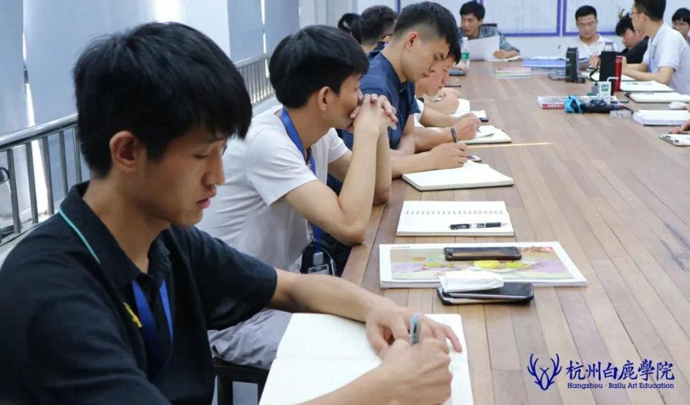 来吧,展示!杭州艺考画室白鹿八月月考进行中,40
