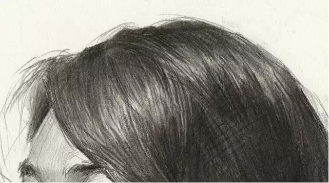 杭州艺考画室素描教学|教你画微胖女青年素描头像,09